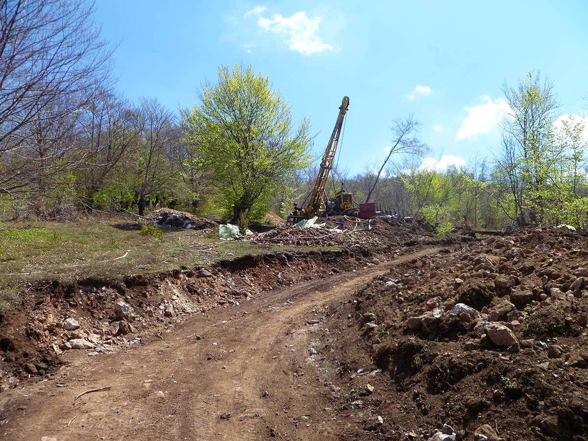 Crepulje project site visit, Kosovo
