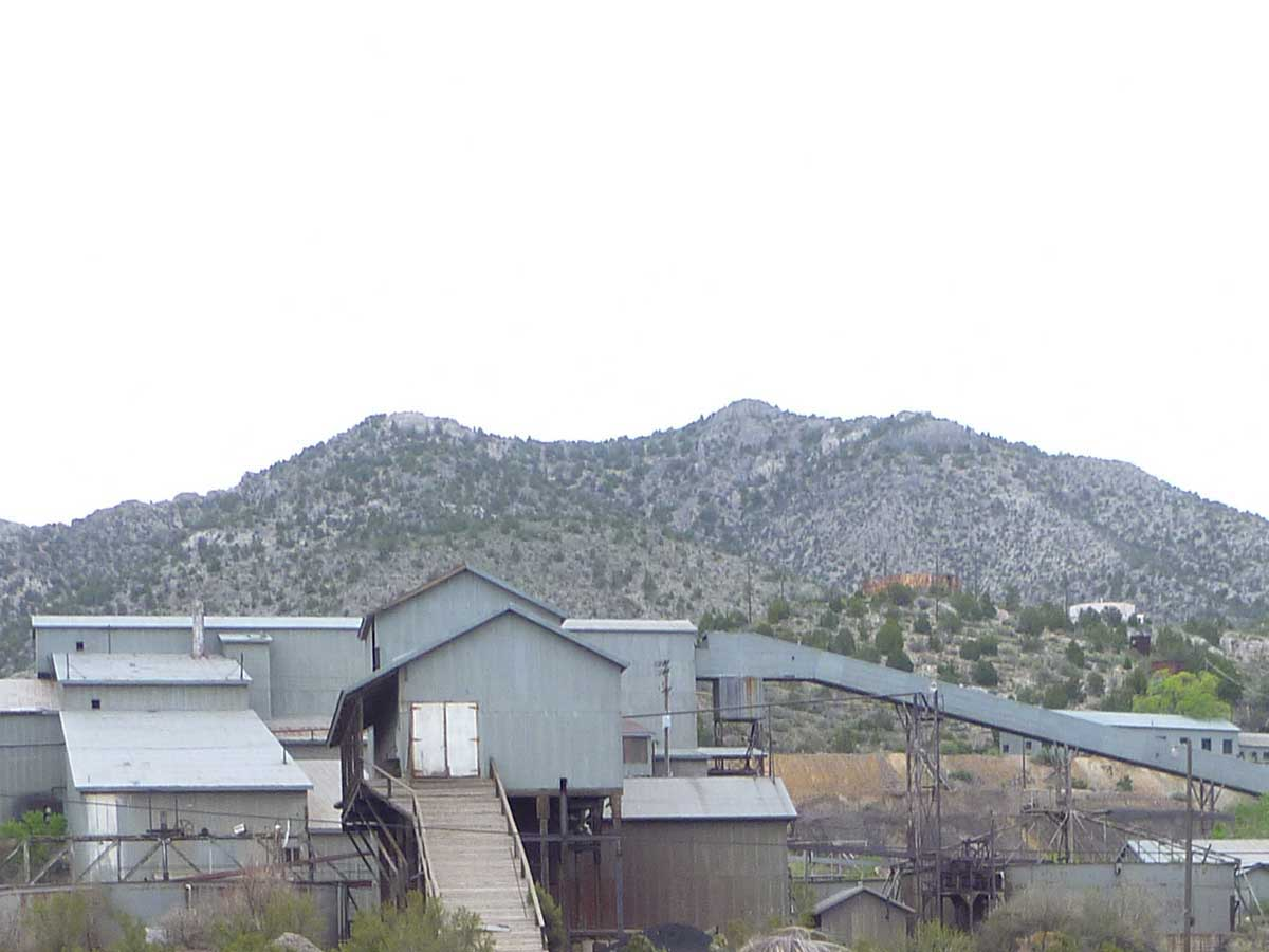 Pioche mine site visit