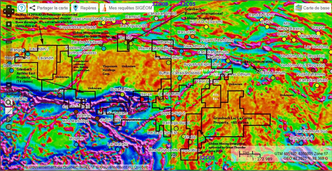6. La Corne Complex-mineral properties-metals-SIGEOM gradient mag