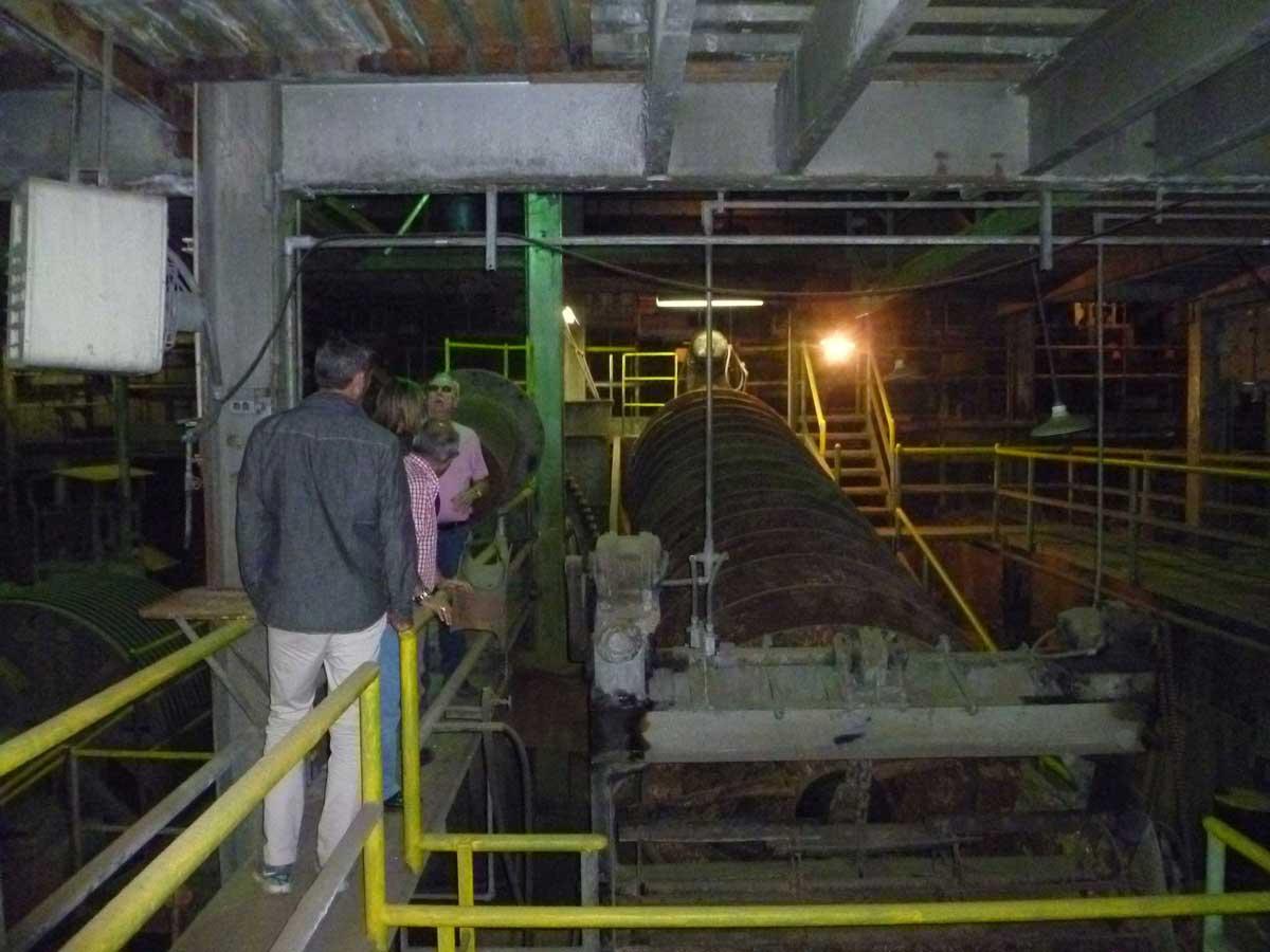 Pioche mine site visit